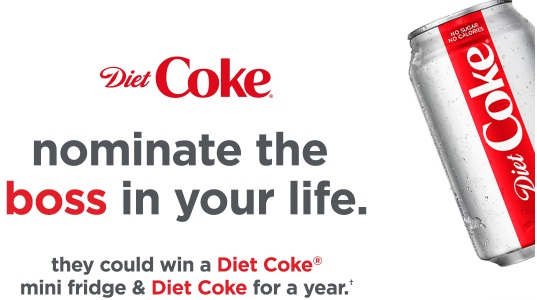 Diet Coke National Boss Day Sweepstakes