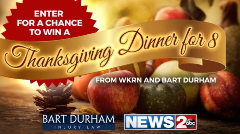 WKRN TV Family Thanksgiving Feast Sweepstakes
