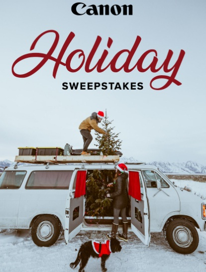 Canon U S A EOS M50 Kit Holiday Sweepstakes