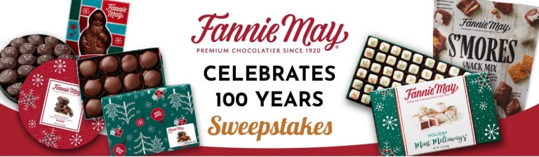 Fannie May Celebrates 100 Years Sweepstakes