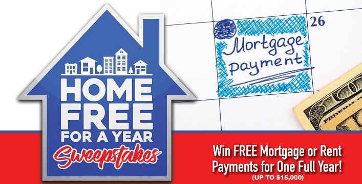 Second Street Media $15000 Home Free For A Year Sweepstakes