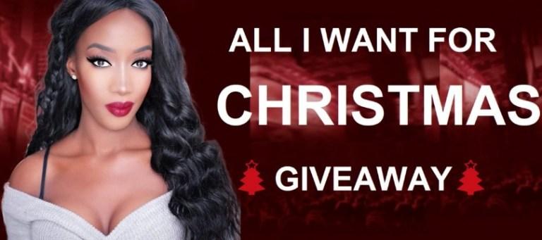 Dynasty Goddess Virgin Hair Christmas Giveaway
