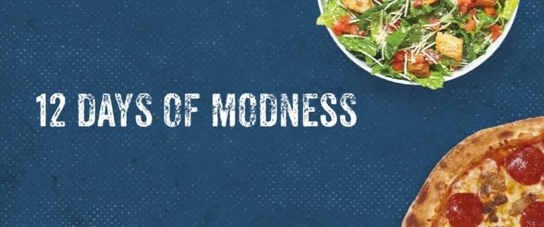 MOD Pizza 12 Days Of MODness Sweepstakes