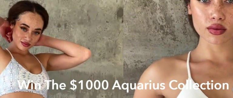 $1000 Aquarius Collection Giveaway