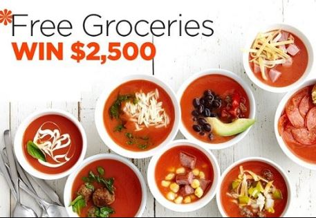Better Homes & Gardens $2500 Grocery Sweepstakes
