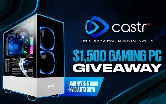 Castr 2021 New Year Giveaway