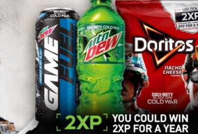 Mtn Dew & Doritos Call of Duty Black Ops Cold War Contest