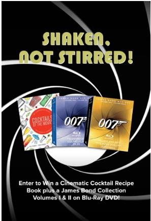 Gofobo Shaken Not Stirred Sweepstakes
