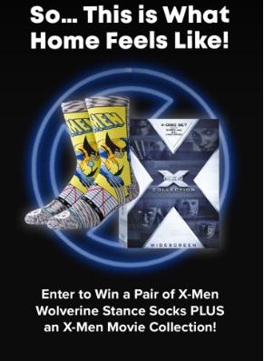 X Men Wolverine Stance Socks Giveaway