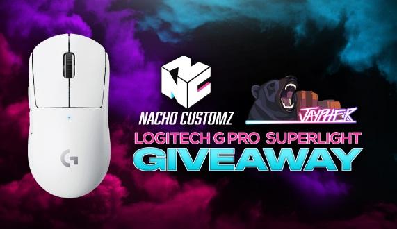 Nacho Customz X Jaypher Logitech G Pro X Superlight Giveaway
