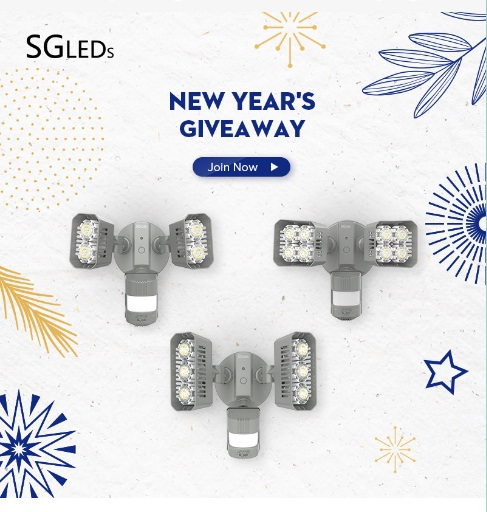 SGLEDs New Years Giveaway