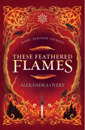 These Feathered Flames Giveaway