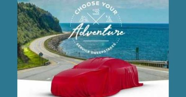 Nissan Choose Your Adventure Sweepstakes