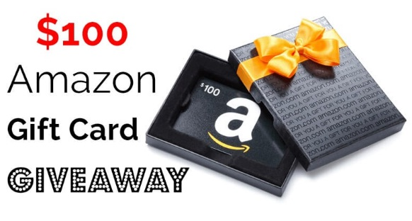 Vacation Gifts $100 Amazon Gift Card Giveaway