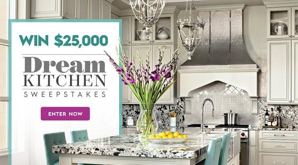 Bhg $25K Spring Dream Kitchen Sweepstakes