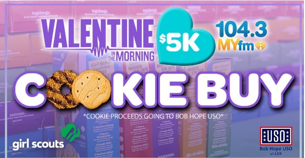 MYfm $5K Girl Scout Cookie Buy Sweepstakes