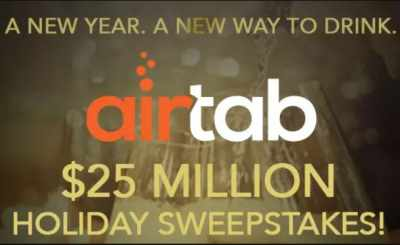 iHeartRadio Airtab $25 Million Dollar Holiday Sweepstakes
