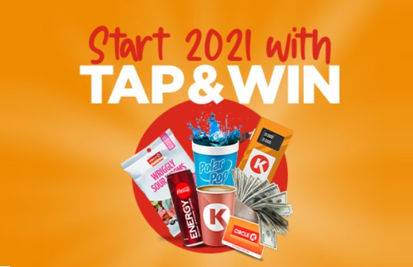 Circle K Tap and Win Instant Win Game