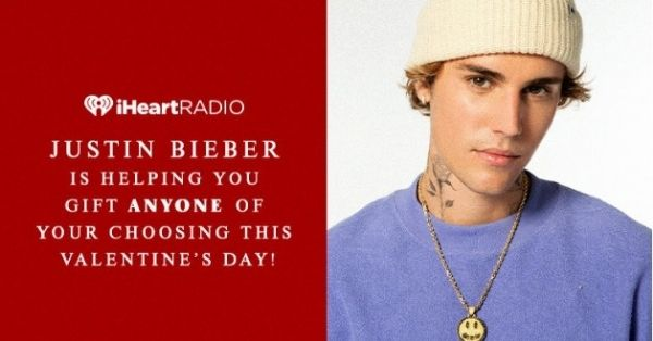 Justin Bieber Valentines Day Sweepstakes