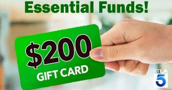 KTLA Essential Funds Giveaway