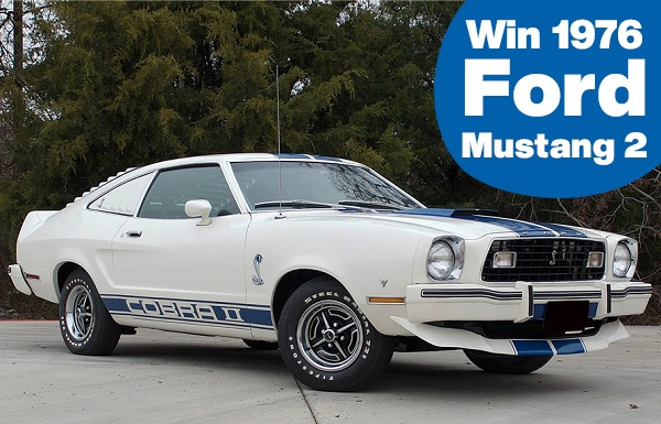 Ford Mustang 2 Giveaway