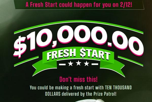 PCH $10000 Fresh Start Giveaway