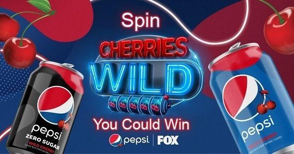 Pepsi Wild Cherry Game Show Sweepstakes