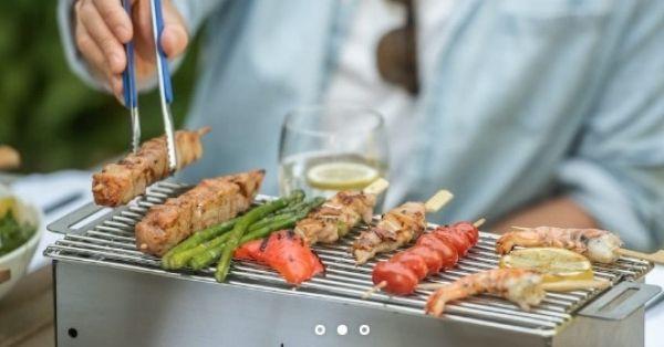 Hibachi Charcoal Grill Giveaway