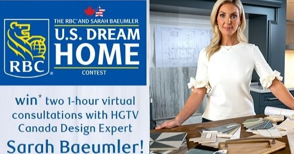 HGTV RBC Sarah Baeumlers US Dream Home Contest