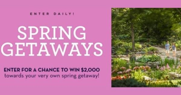 Midwest Living Spring Getaways Sweepstakes