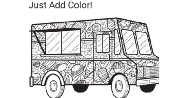 Food Network Magazine March Coloring Contest