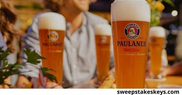 Paulaner Official Bier Of The Biergarten Sweepstakes