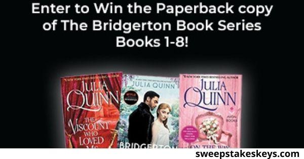 Gofobo Bridgerton Book Collection Giveaway