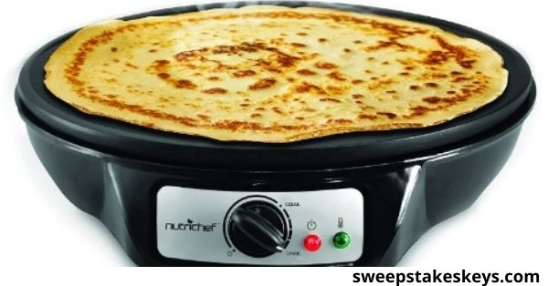 Steamy Kitchen Electric Griddle And Crepe Maker Giveaway