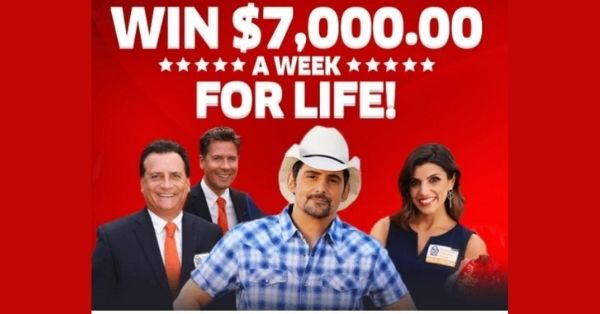 PCH $7000 A Week For Life Sweepstakes