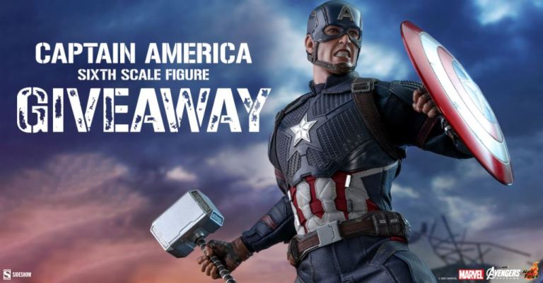 Sideshow Captain America Sweepstakes
