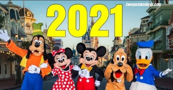 Walt Disney World- Spring 2021 Sweepstakes