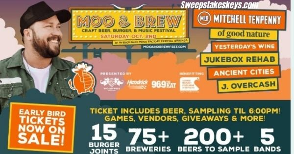 iHeartMedia Moo And Brew VIP Tickets Sweepstakes