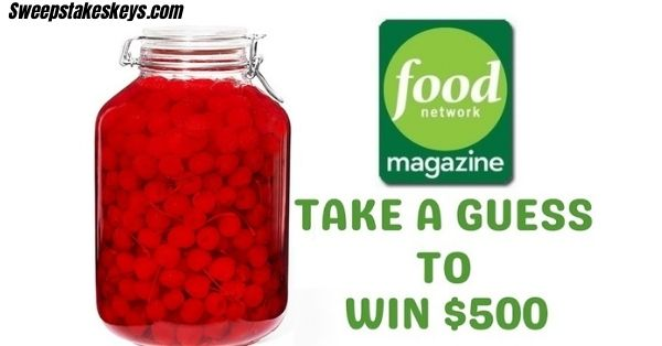 Food Network Magazine Who's Counting Cash Contest 2021
