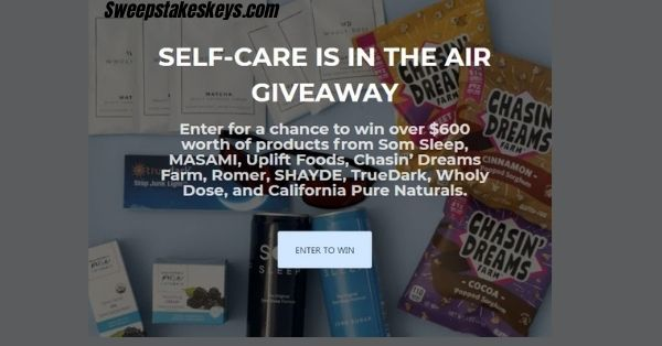 Self-Care Is In The Air Giveaway