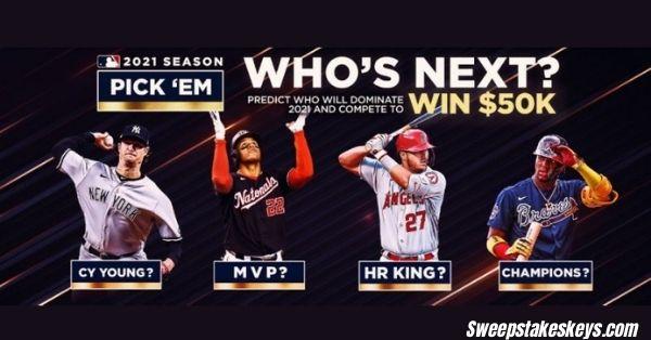 2021 MLB Season Pick Em Contest