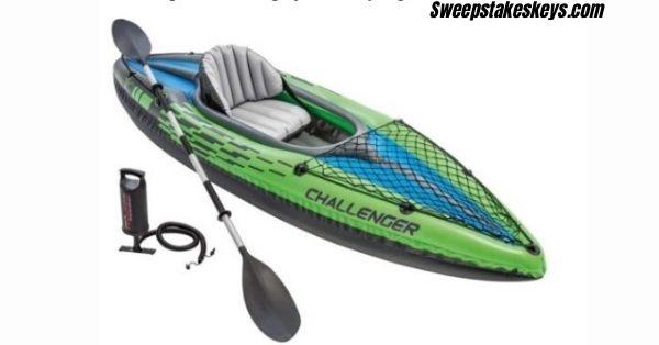 Intex Challenger Inflatable Kayak Set Giveaway