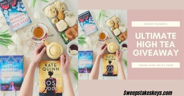 HarperCollins High Tea At Home Giveaway