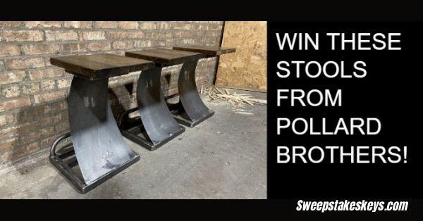 Pollard Brothers Stool Giveaway