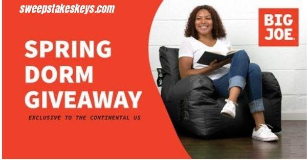 Big Joe Spring Dorm Chair Giveaway