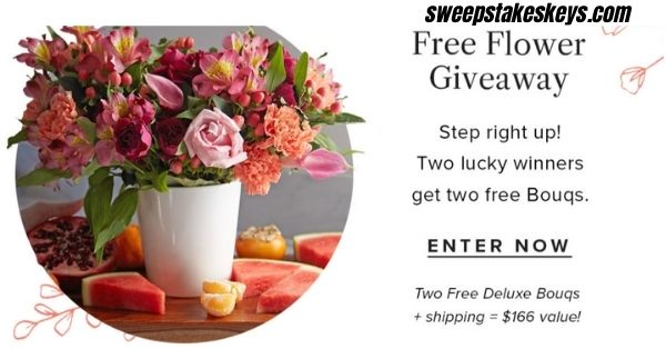Bouqs Free Flower Giveaway