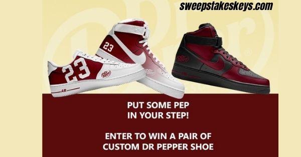Dr Pepper Shoe Giveaway 2021