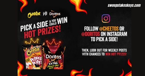 Cheetos vs. Doritos Sweepstakes