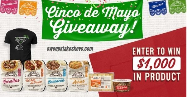Del Real Foods Cinco de Mayo Giveaway