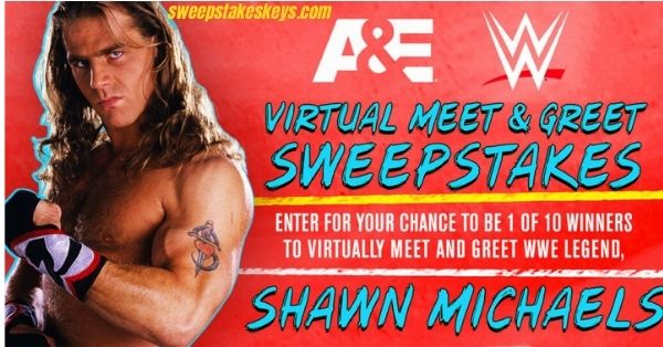 A&E + WWE Virtual Meet and Greet Sweepstakes